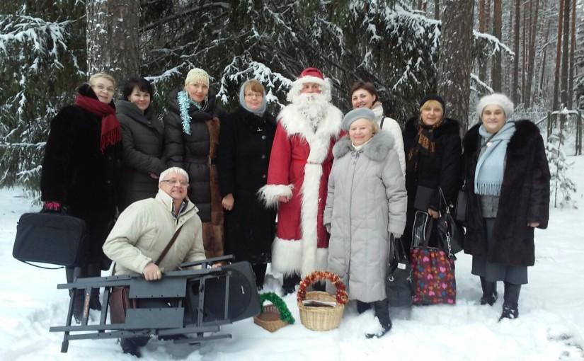 Рождественский концерт в доме престарелых «Сеневита»