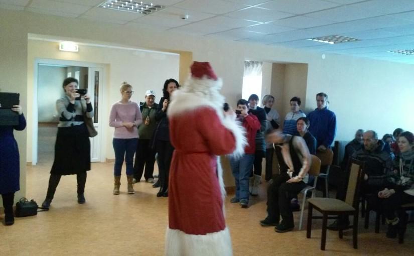 Рождественский концерт в Prudiškių socialines globos namai