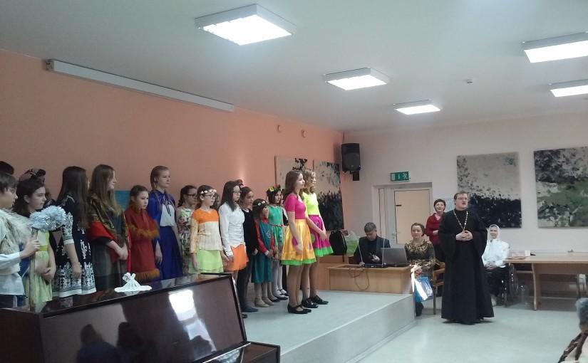 Рождественский концерт в доме престарелых «Antaviliu pansionatas»