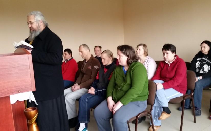 Духовное окормление в доме опеки в Прудишкес