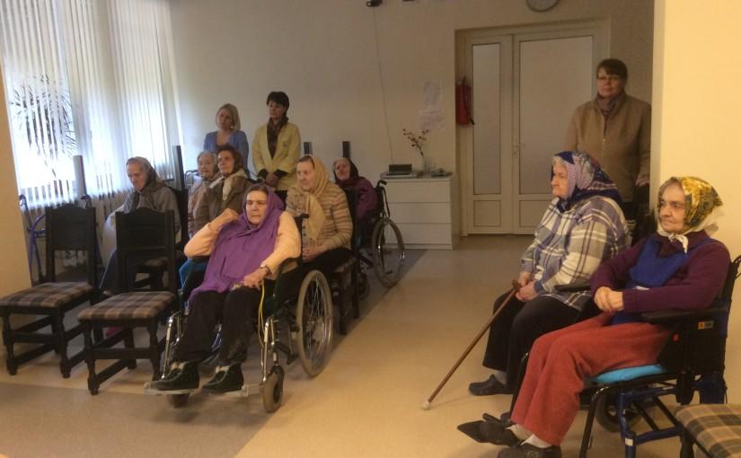 Духовное окормление в доме престарелых «Сеневита»