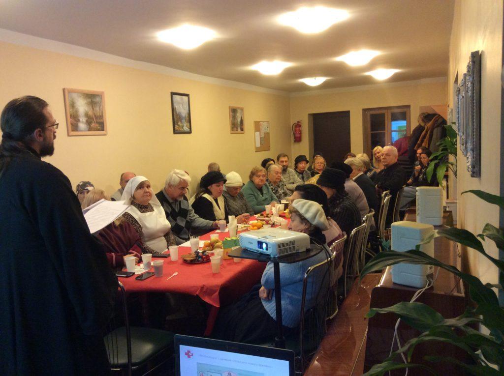 Молебен для добровольцев Вильнюсского благочиния