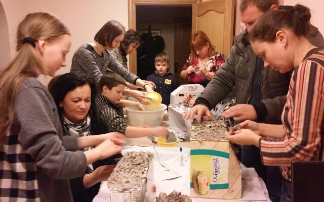 Подготовка к Рождеству в семейном клубе «Уютный дом»
