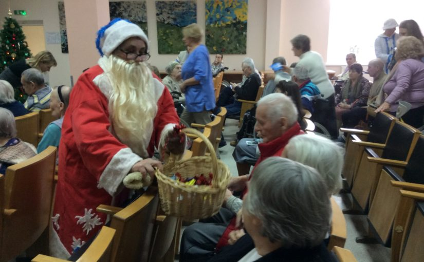 Святочные поздравления в «Antavilių pensionatas»