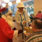 """Рождественское поздравление в доме престарелых """"Сеневита"""" 2017"""