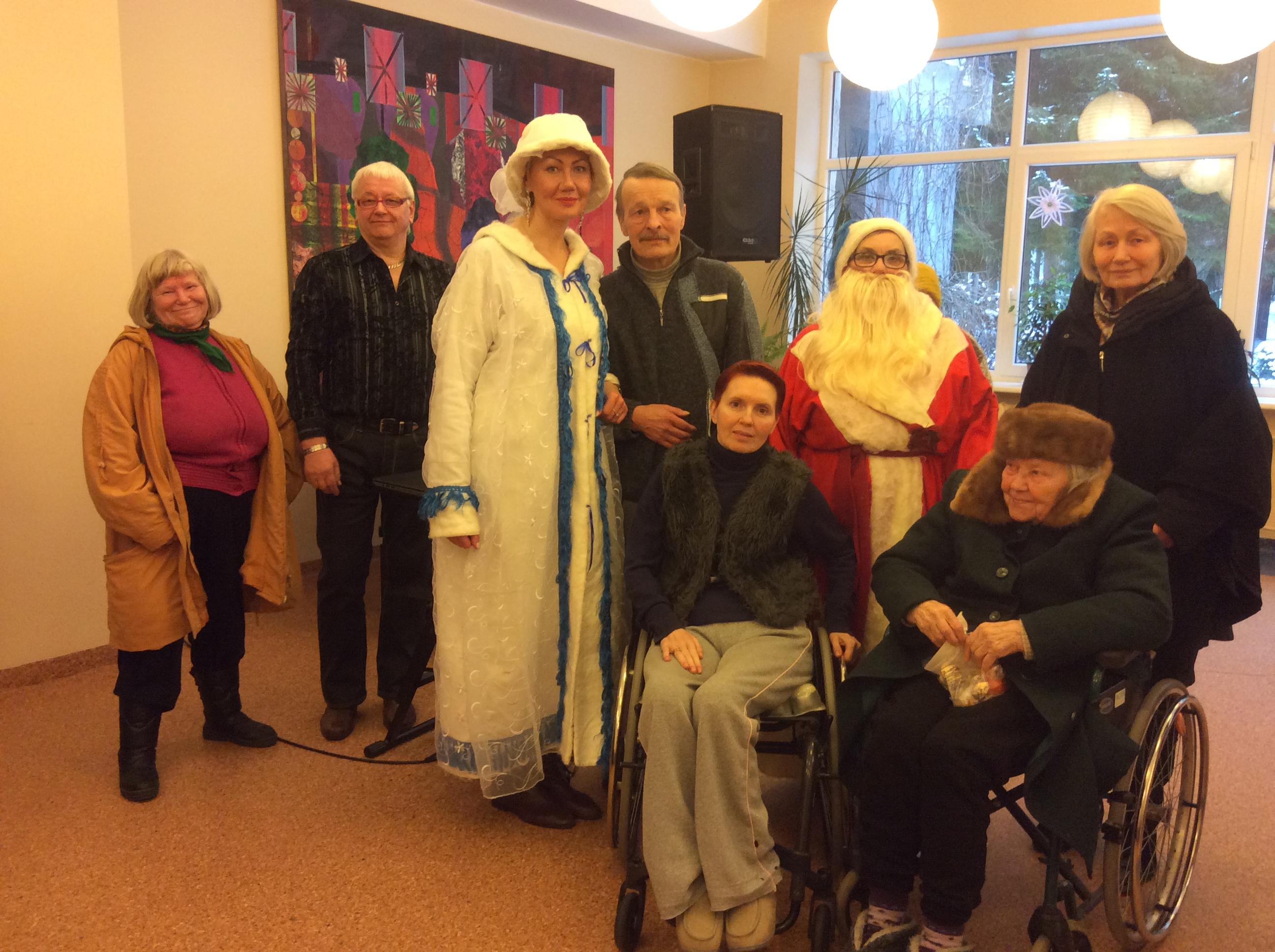 Поздравление в домах престарелых пансионат для престарелых нижний тагил