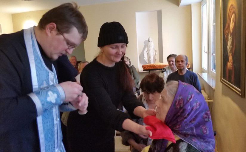 Духовное окормление в доме престарелых «Antavilių pensionatas»