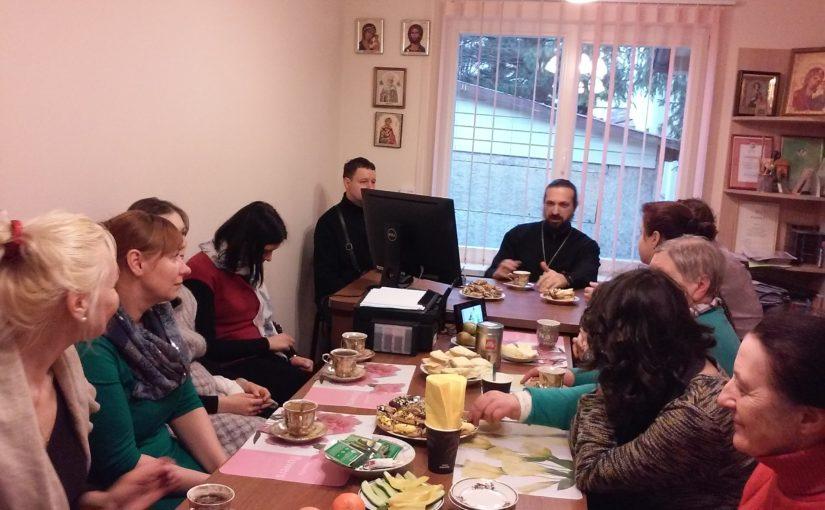 Молебен для добровольцев накануне Великого поста