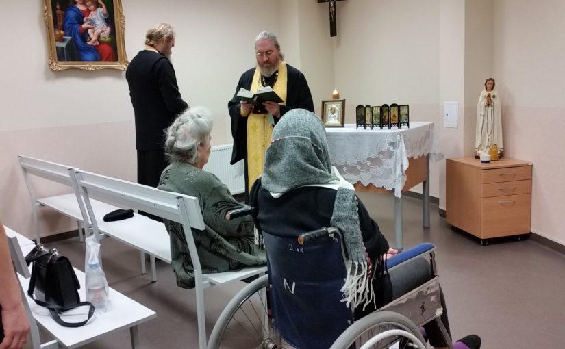Духовное окормление в больнице Šv. Roko