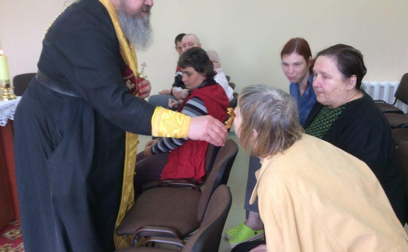 Духовное окормление  в домах престарелых  Вильнюсского района