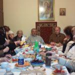Молебен для добровольцев социального служения Вильнюсского благочиния