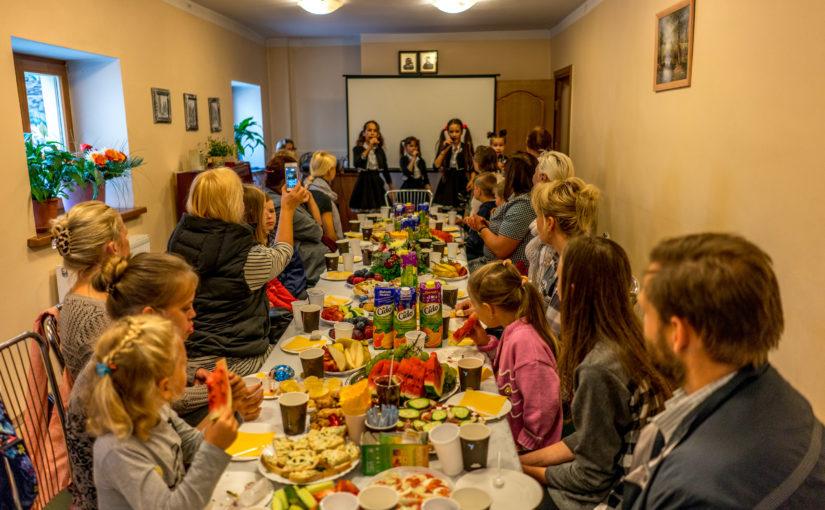 Открытие нового учебного года в семейном клубе «Уютный дом» Свято-Духового монастыря