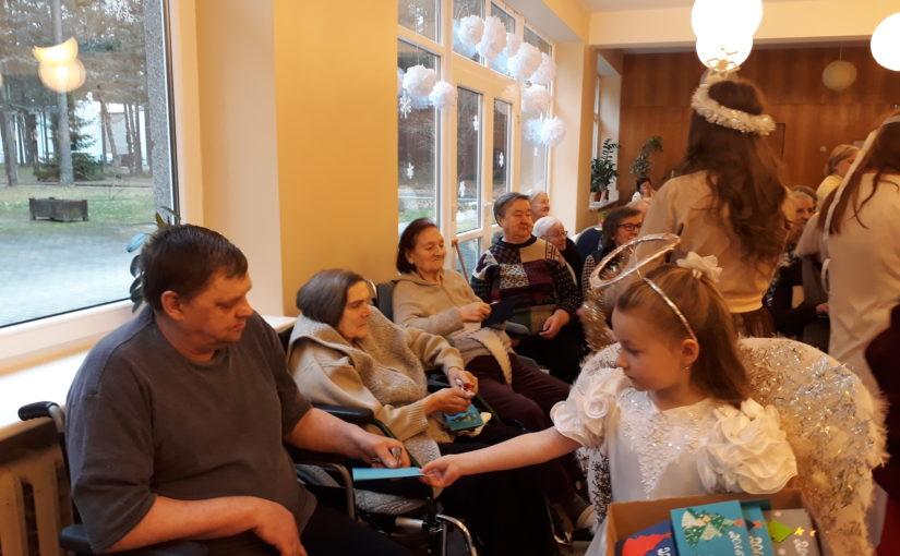 Рождественское поздравление в доме престарелых «Сеневита»