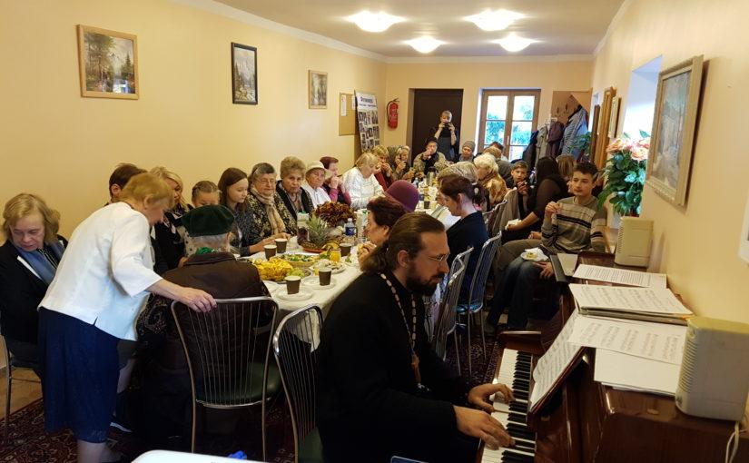 Праздничный концерт в день Покрова в Свято-Духовом монастыре