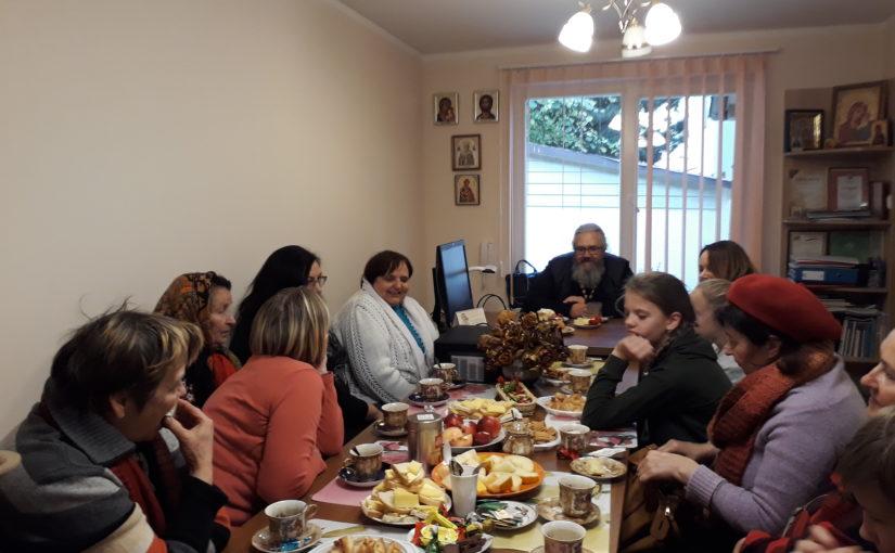 Молебен для добровольцев социального служения Свято-Духова монастыря г.Вильнюса