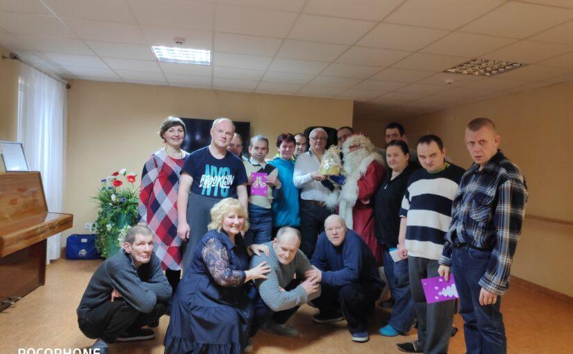 Рождественские поздравления в доме опеки в Прудишкес
