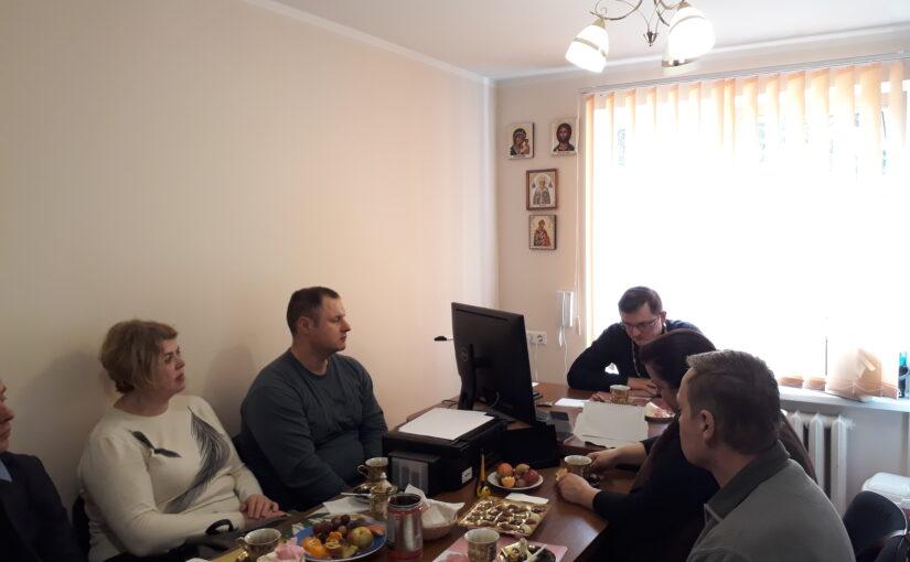 Молебен для добровольцев милосердного служения Свято-Духового монастыря