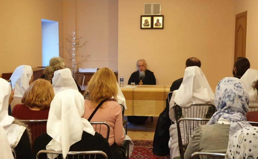 Встреча владыки Пантелеимона с социальными работниками