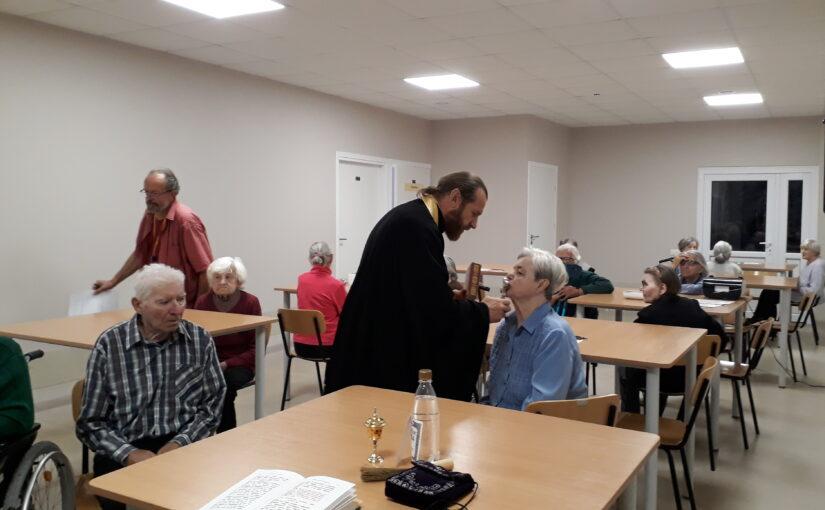 Духовное окормление в доме престарелых «Севелис»