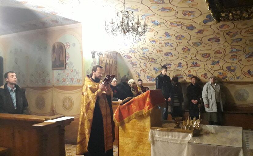 Молебен для добровольцев милосердного служения Свято-Духова монастыря г.Вильнюса