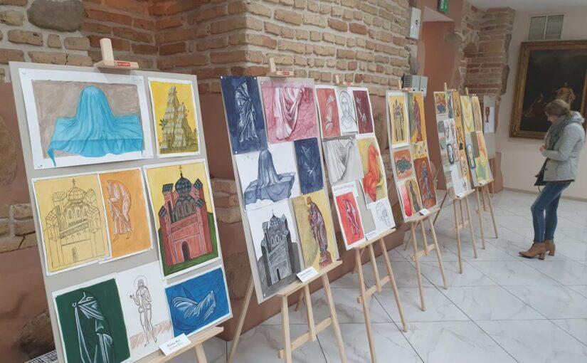 Выставка иконописных работ