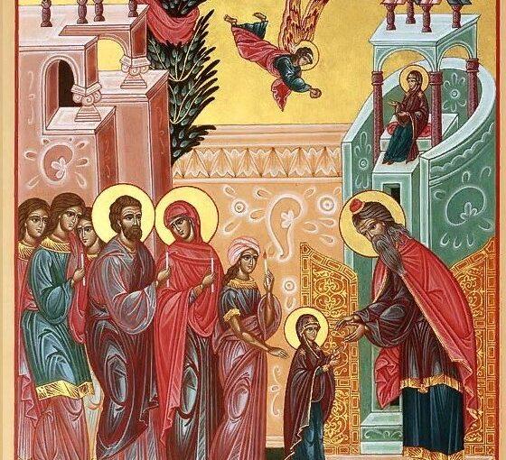 4 декабря Православная церковь празднует Введение во храм Пресвятой Богородицы