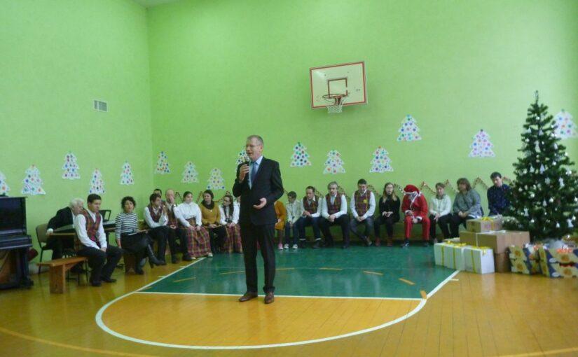 Рождественская акция в центре «Mes esame» («Мы есть»)