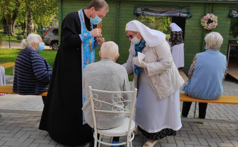 Духовное окормление в доме престарелых «Севилис»