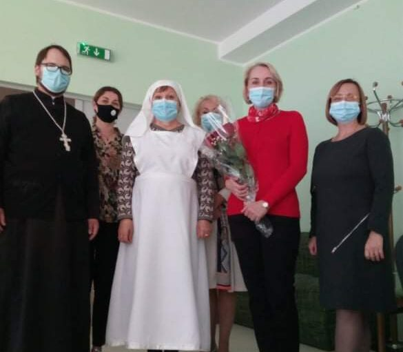 Посещение детско — юношеского пансионата в Вильнюсе