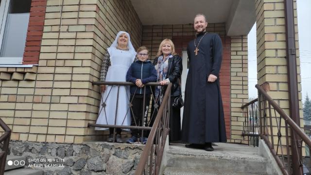 Посещение семейного детского дома в г. Вильнюс