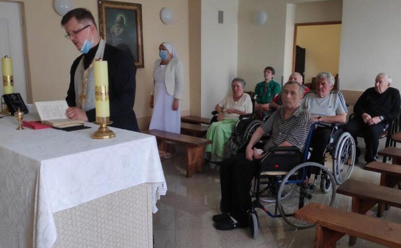 Духовное окормление в Доме престарелых